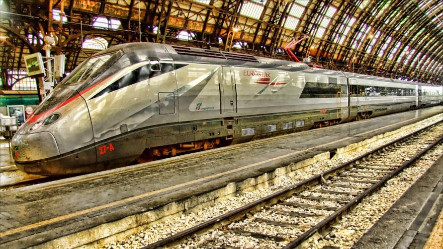 Скоростной поезд.