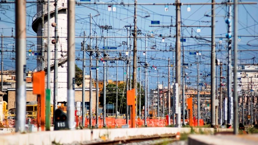 Железнодорожная сеть.