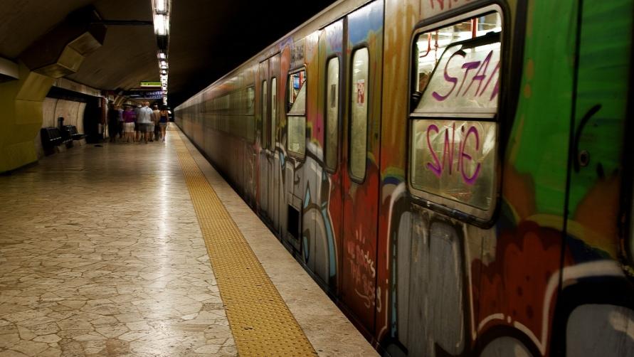 В метро вы не увидите