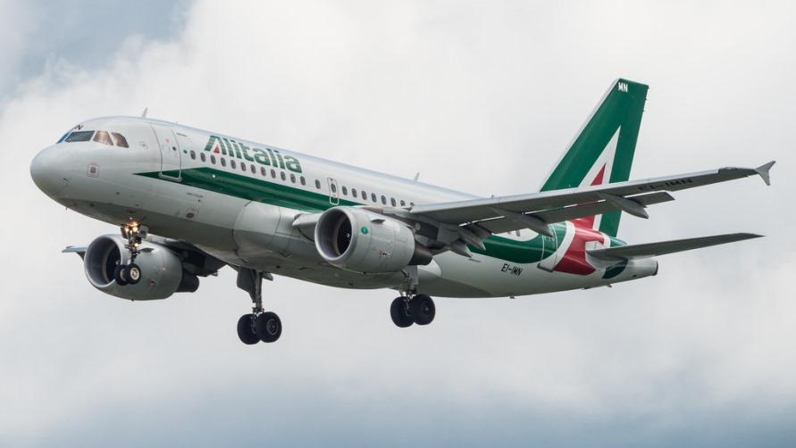 Боинг Alitalia.