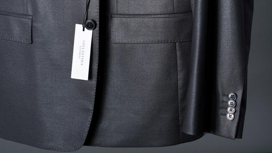 Пиджак от Версаче.