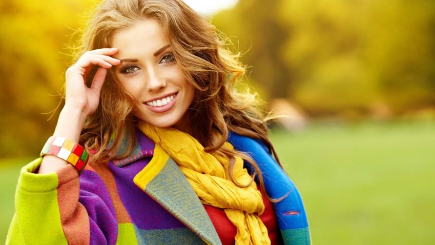 Фото девушек в пальто 7 фотография
