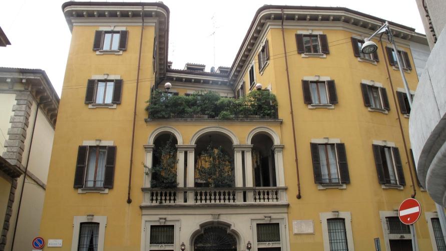 Фасад здания.