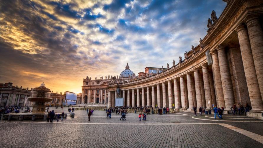 Вид на главную площадь Рима