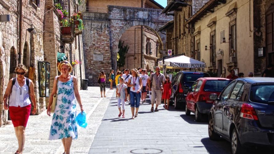 Что носят туристы в италии