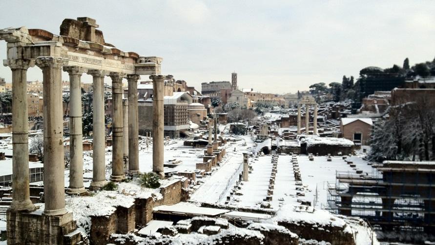 Зима в Риме
