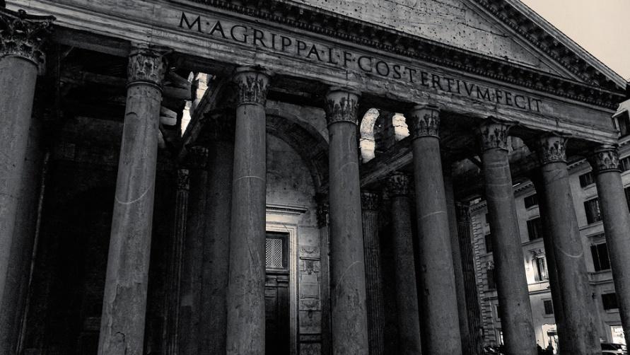 Стены Пантеона