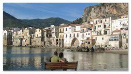 Туристы на Сицилии
