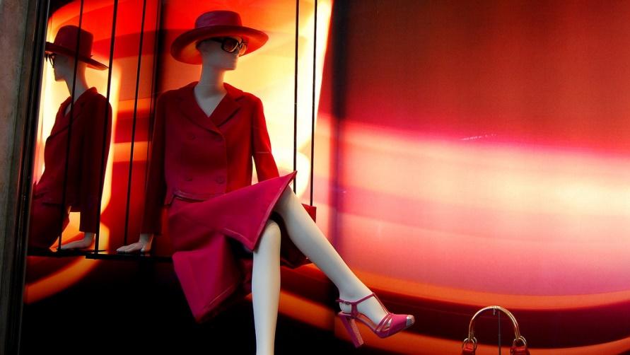 Витрина бутика Dior