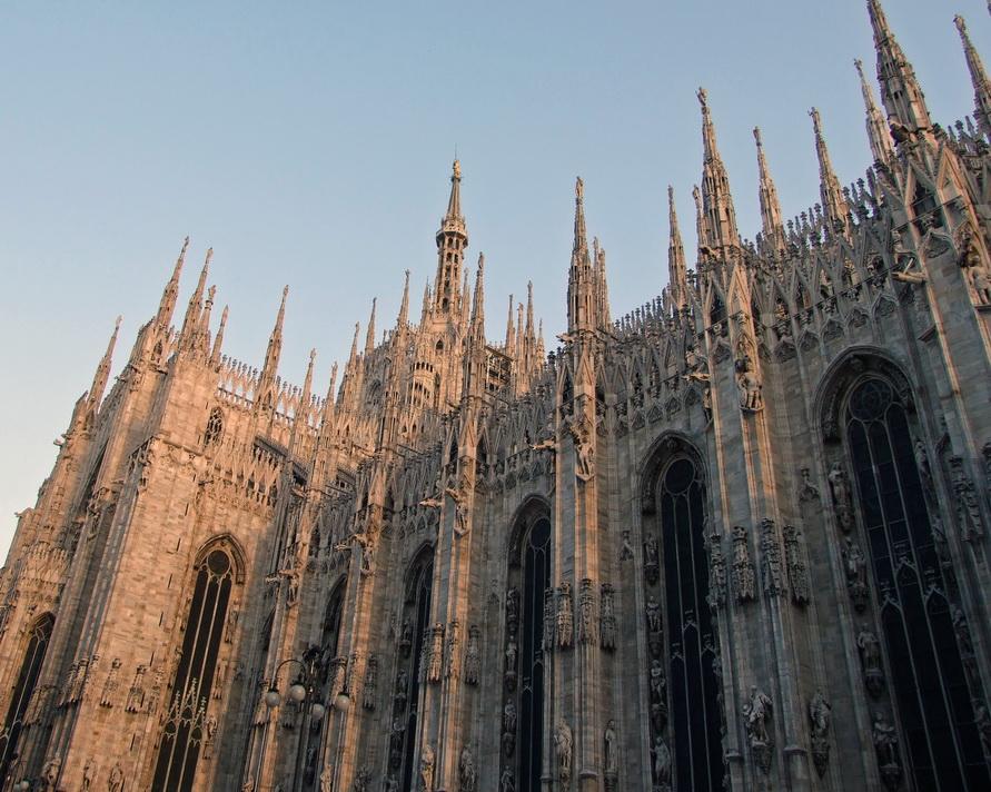 Дуомо — главная достопримечательность Милана.