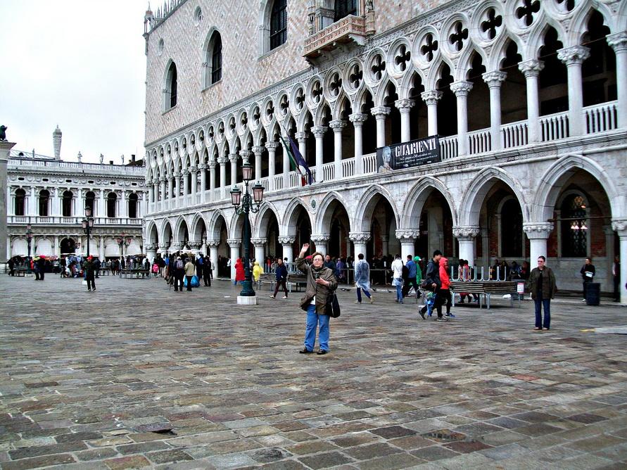 Привет из январской Венеции.