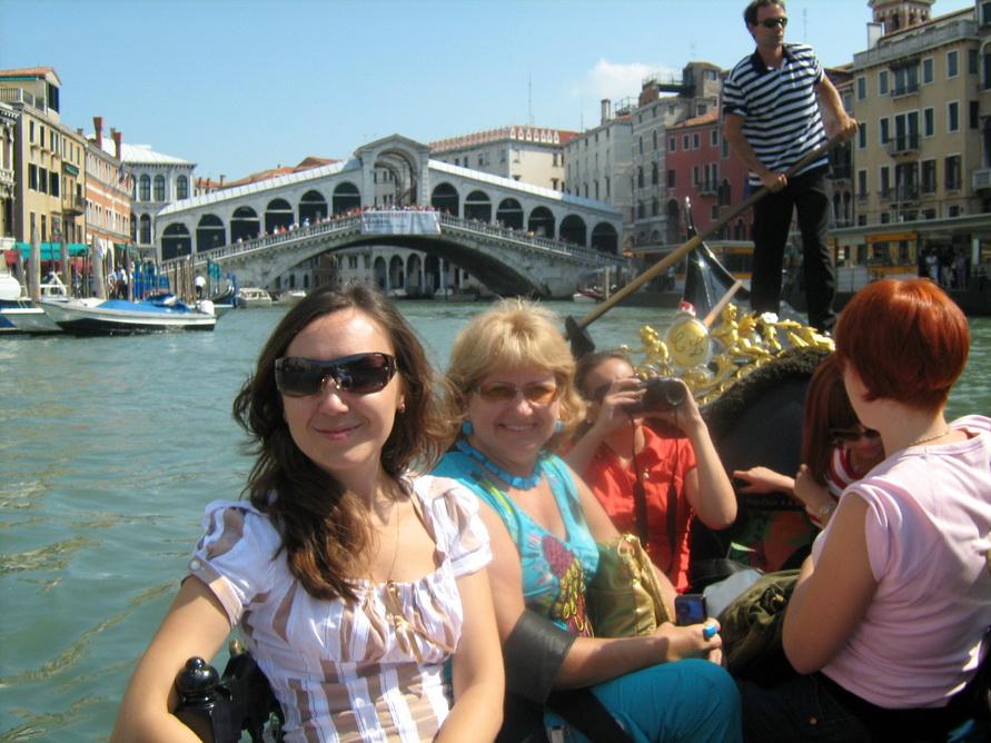 Мост Риальто в Венеции.
