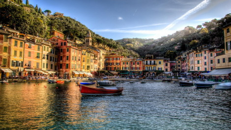 Итальянский курорт Портофино — самый богатый в стане.