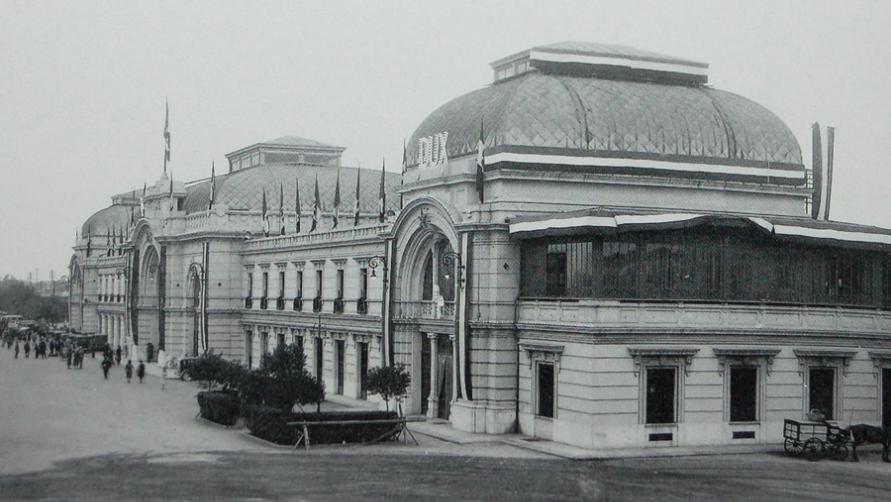 Старый снимок вокзала