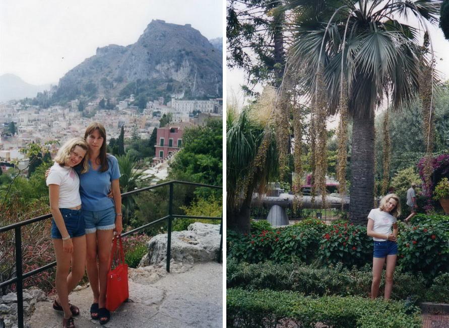 Один день на Сицилии в июле.