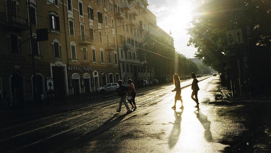 Рассвет в Риме