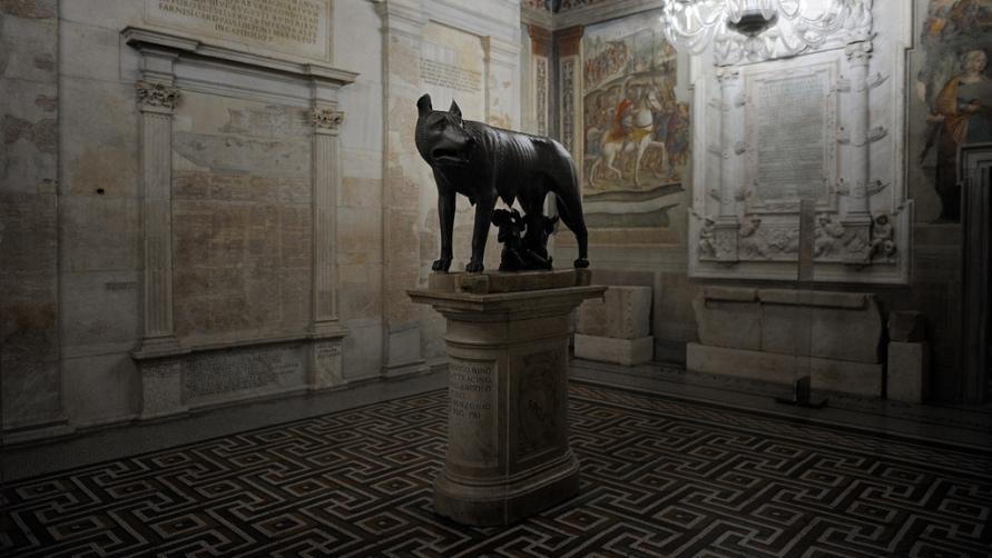 Капитолийская волчица оригинал