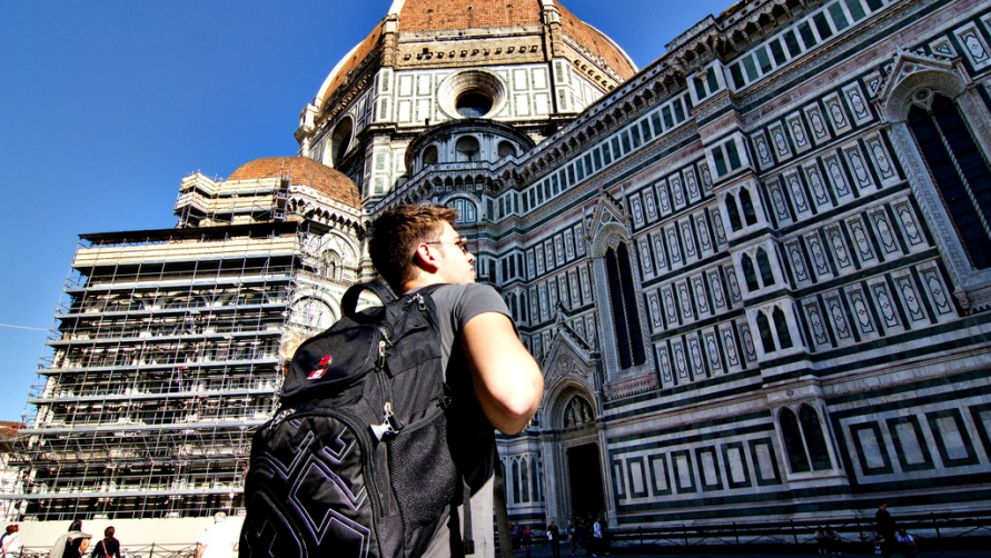 Молодой человек во Флоренции