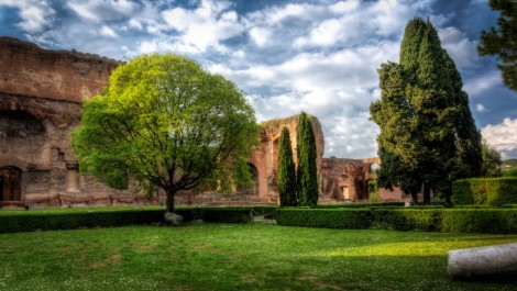 Чем интересны Термы Каракаллы, расположенные в Риме