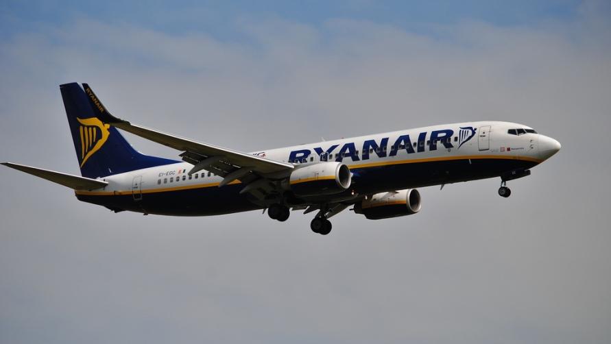 Самолёт Ryanair.