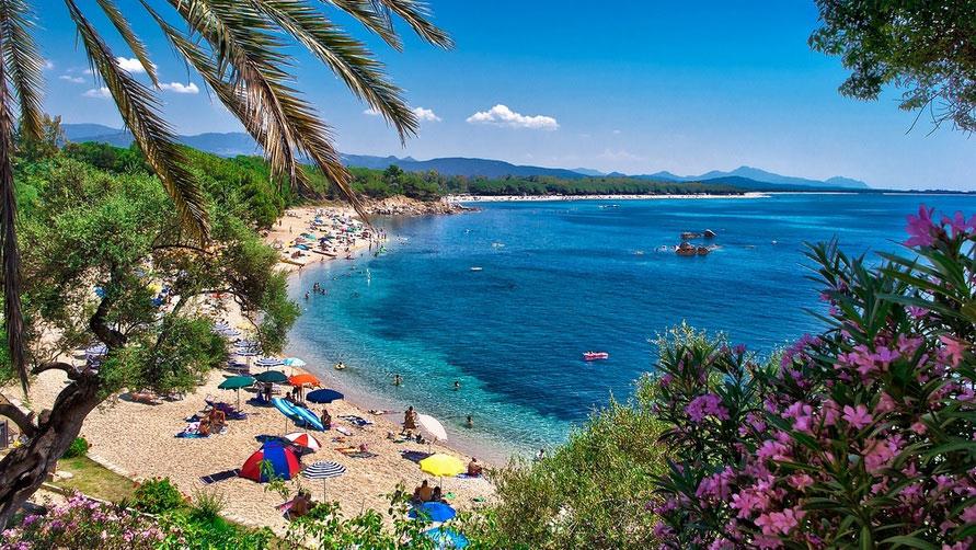 Пейзаж Сардинии.